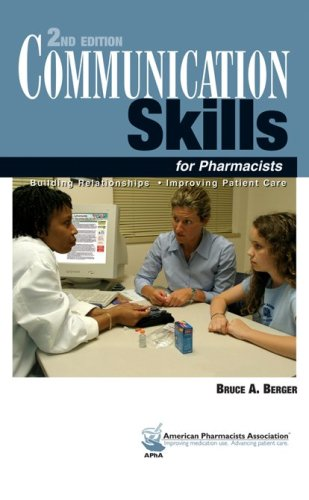 9781582120805: Communication Skills for Pharmacists