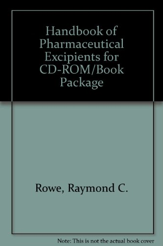 9781582120881: Handbook of Pharmaceutical Excipients for CD-ROM/Book Package