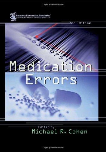 9781582120928: Medication Errors