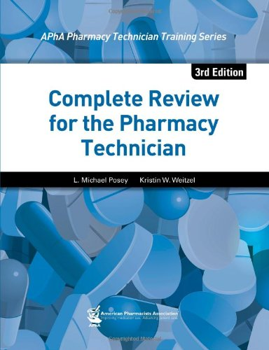 9781582121987: Complete Review for the Pharmacy Technician