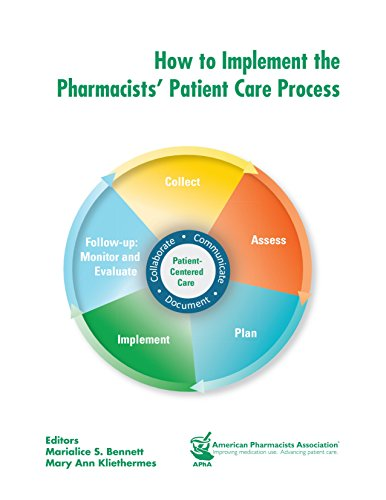 9781582122564: How to Implement the Pharmacists' Patient Care Process