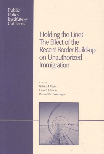 9781582130590: Holding the Line: The Effect of the Recent Border Build-Up on Unauthorized Immigration