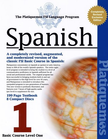 9781582142760: Platiquemos Spanish: Basic Course Level Two (8 CD's and Book) (Spanish Edition)