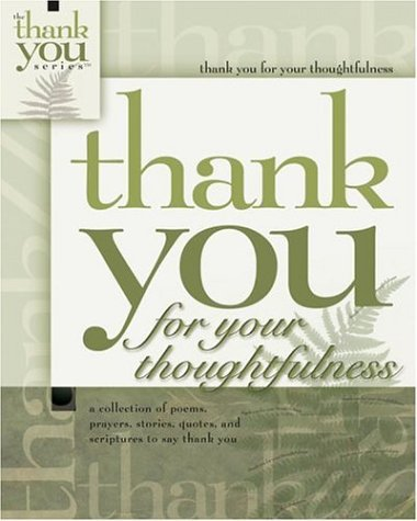 9781582292779: Thank You for Thoughtfulness (Gift Book)