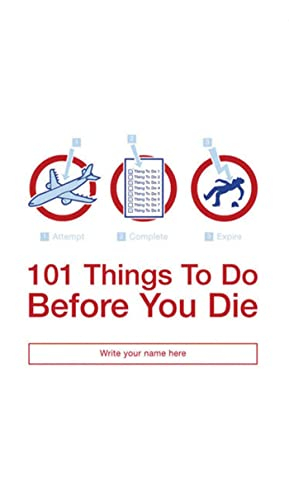 9781582344935: 101 Things to Do Before You Die