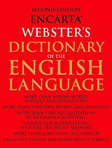Encarta Websters Dictionary of the English Language: