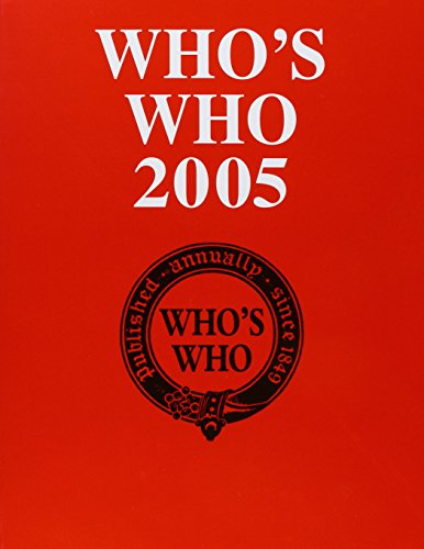 Who's Who 2005 w/online: 157th Annual Edition: Who, Who's