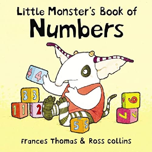 9781582349794: Little Monster's Book of Numbers