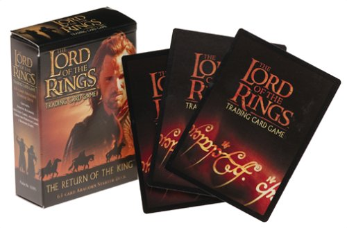 9781582366869: The Lord of the Rings Card Game Return of the King Aragorn Starter Deck