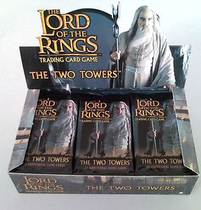 9781582368641: The Two Towers 11x Booster Pak - The Lord of the Rings Tradingcardgame