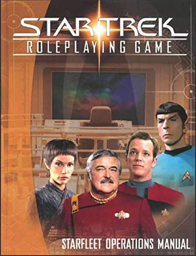 9781582369044: Star Trek Roleplaying Game : Starfleet Operations Manual