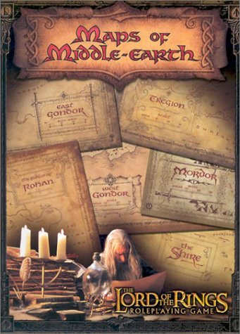 9781582369600: Maps of Middle-Earth:The Lord of the Rings Map Set