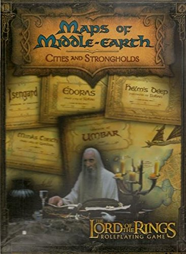 9781582369679: Maps of Middle-Earth: Cities and Strongholds (The Lord of the Rings Roleplaying Game)