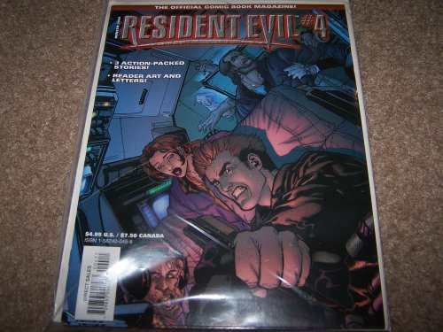 9781582400457: Resident Evil Official Comic Book Magazine #4 (Winter 1998)