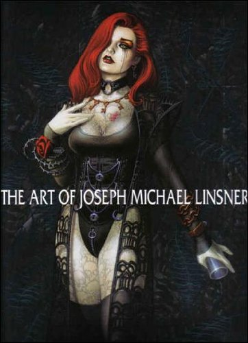 9781582402741: The Art of Joseph Michael Linsner Hardcover