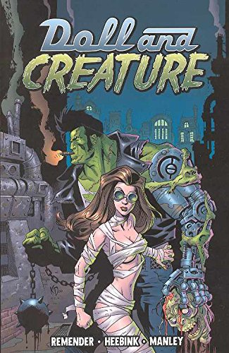 9781582406558: Doll And Creature Volume 1: Everything Turns Gray: Eveything Turns Gray v. 1