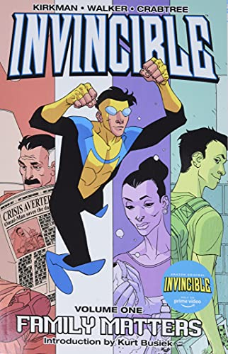 9781582407111: Invincible Volume 1: Family Matters New Printing: Family Matters v. 1