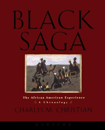 9781582430003: Black Saga: The African American Experience: A Chronology