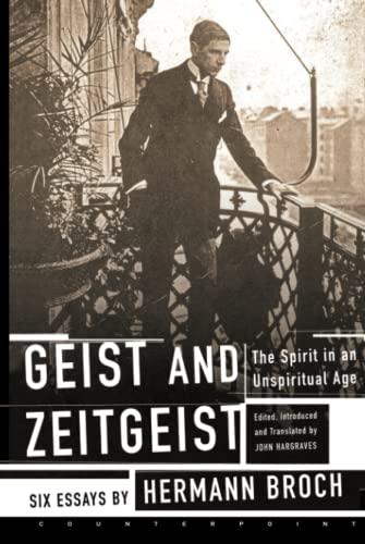9781582431680: Geist and Zeitgeist: The Spirit in an Unspiritual Age