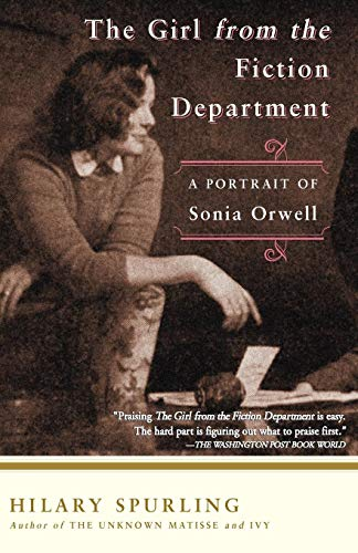 9781582432441: The Girl from the Fiction Department: A Portrait of Sonia Orwell
