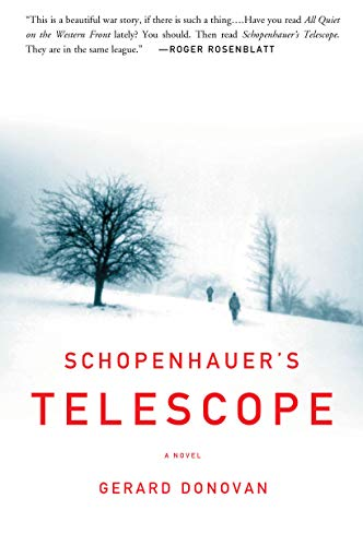 9781582433103: Schopenhauer's Telescope: A Novel
