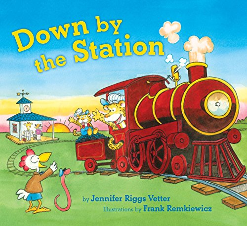 Down By the Station [First Printing] [Signed]: Vetter, Jennifer Riggs