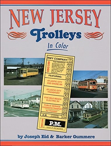 9781582480756: New Jersey Trolleys in Color