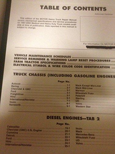 9781582511276: Heavy Truck Repair Manual (Motor Heavy Truck Repair Manual)
