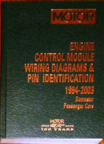 9781582511603: Engine Control Module Wiring Diagrams & Pin Identification 1994-2003: Domestic Passenger Cars