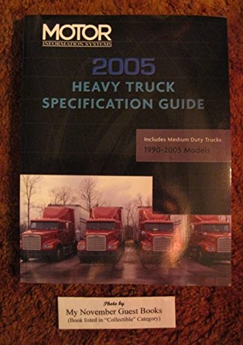 9781582512365: Heavy Truck Specification Guide