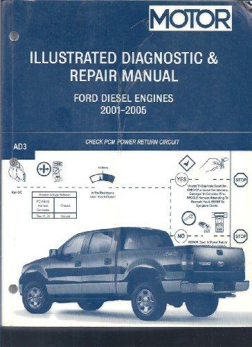 Motor Illustrated Diagnostic & Repair Manual: Ford Diesel Engines, 2001-2005: Motor Information...