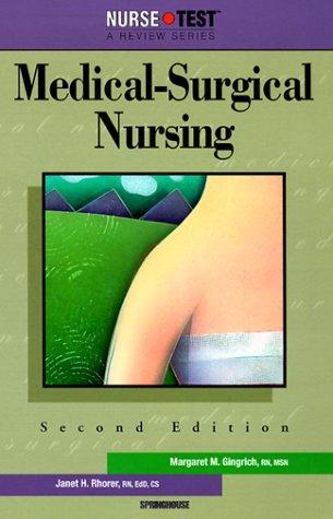 Nursetest: Medical-Surgical Nursing: Janet H. Rhorer
