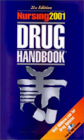 Nursing 2001 Drug Handbook (Book with Mini CD-ROM for Windows and Macintosh): Springhouse