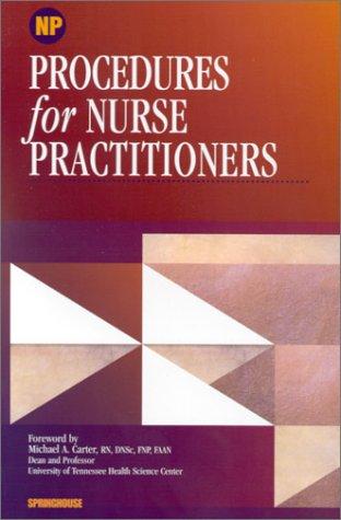 9781582550688: Procedures for Nurse Practitioners