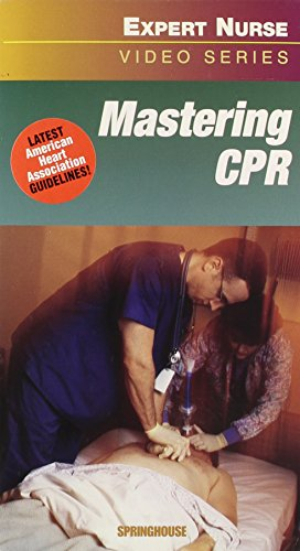 9781582551494: Mastering Cpr (Springhouse Expert Nurse Video Series) VHS