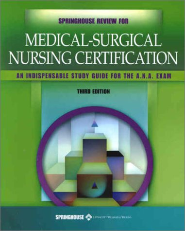 9781582551623: Springhouse Review for Medical-Surgical Nursing ...