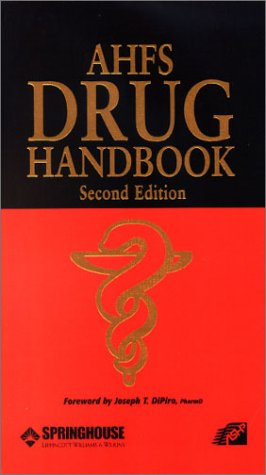 9781582552026: AHFS Drug Handbook