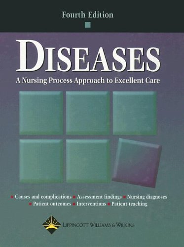 9781582552903: Diseases: A Nursing Process Approach to Excellent Care