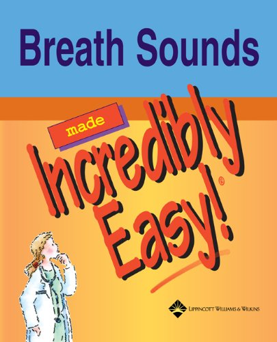 9781582553542: Breath Sounds Made Incredibly Easy (Incredibly Easy! Series)