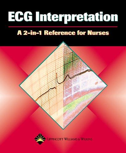 9781582553955: ECG Interpretation: A 2-in-1 Reference for Nurses (2-in-1 Reference for Nurses Series)
