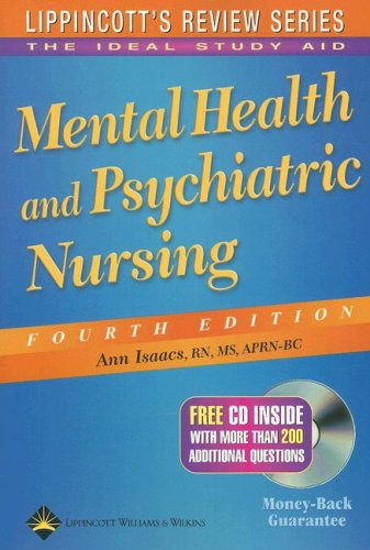 9781582554549: Mental Health and Psychiatric Nursing (Lippincott's Review Series)