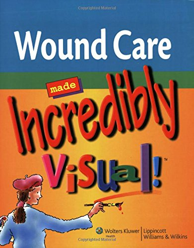9781582555546: Wound Care Made Incredibly Visual! (Incredibly Easy! Series®)