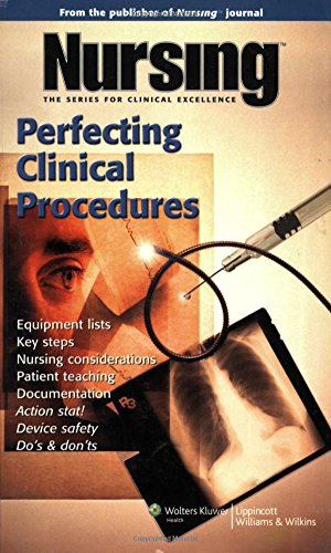 9781582556642: Nursing: Perfecting Clinical Procedures (Nursing Journal Series)