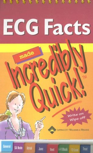 9781582556727: ECG Facts Made Incredibly Quick! (Incredibly Easy! Series®)