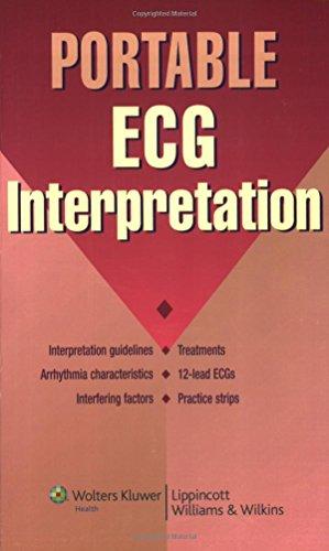 9781582556772: Portable ECG Interpretation (Portable Series)