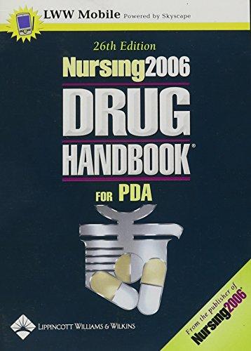 9781582558172: Nursing2006 Drug Handbook for PDA: Powered by Skyscape, Inc.