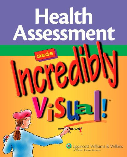 9781582559858: Health Assessment Made Incredibly Visual! (Incredibly Easy! Series®)