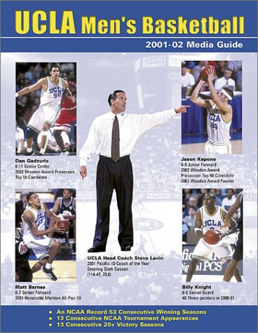 2001-02 UCLA Men's Basketball Media Guide: Sports Publishing LLC
