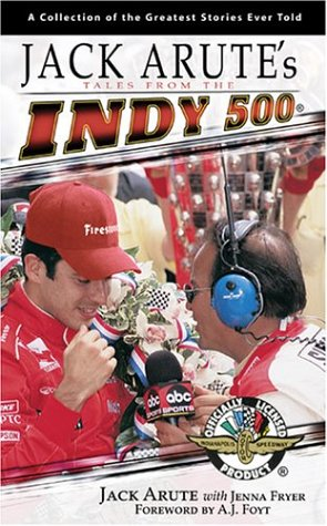 9781582617275: Jack Arute's Tales from the Indy 500