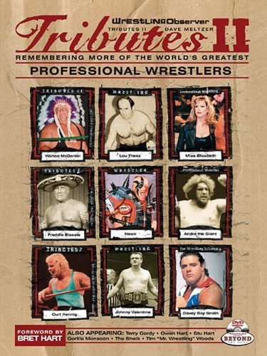 9781582618173: Wrestling Observer Tributes II: Remembering More of the World's Greatest Professional Wrestlers [With DVD]
